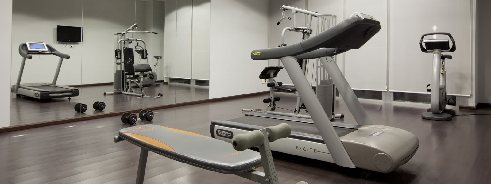 Get fit while you enjoy your stay.