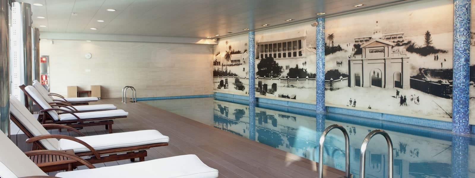 Indoor swimming pool to enjoy all year long.