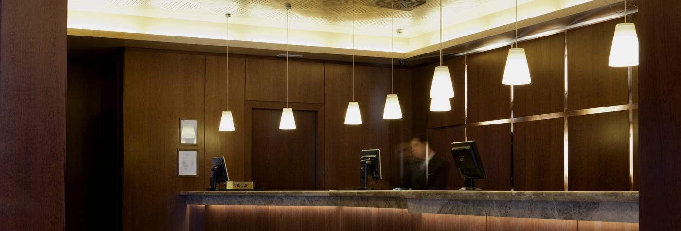 Hotel Praga Recepción